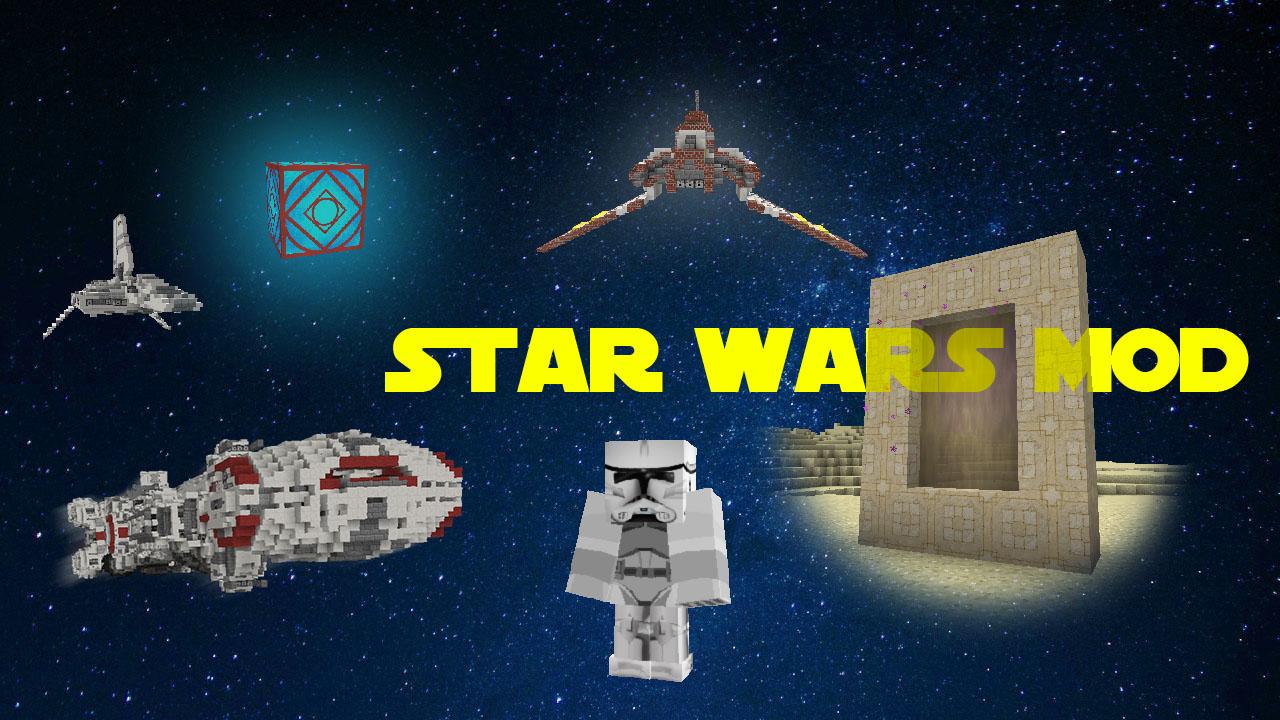 Мод на звездные войны Star Wars для Майнкрафт 1.7.10 1.7.2 ...